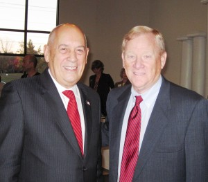 Bill Rasmussen with Bill Polian