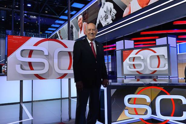 Bill on new SportsCenter set in Bristol, CT Digital Center