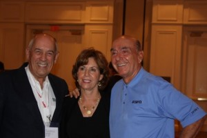 Bill with Lorraine & Dick Vitale