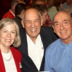 Bill with Rosa Gatti and Dick Vitale